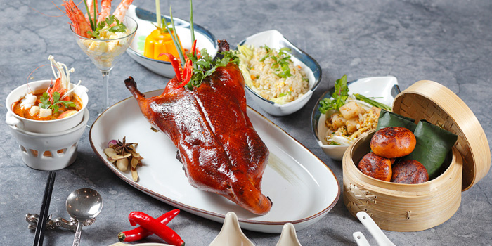 Dish 1 at Tien Chao, Gran Melia Jakarta