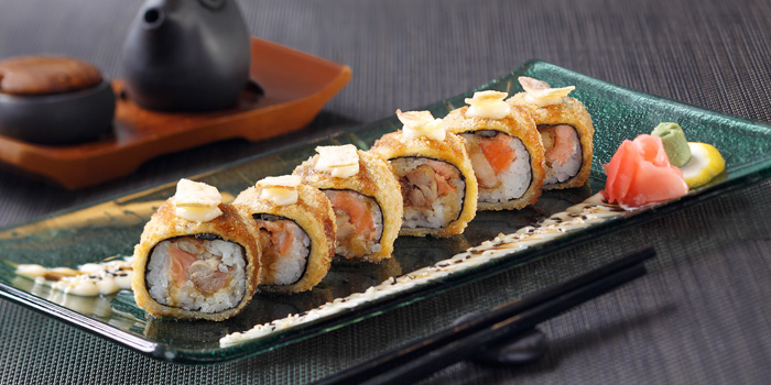 Dish 1 at Yoshi Izakaya, Gran Melia
