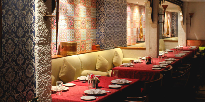 Ambience of Bawarchi Indian Restaurant at Intercontinental Hotel (President Tower Arcade) B-level 973 Ploenchit Road Bangkok