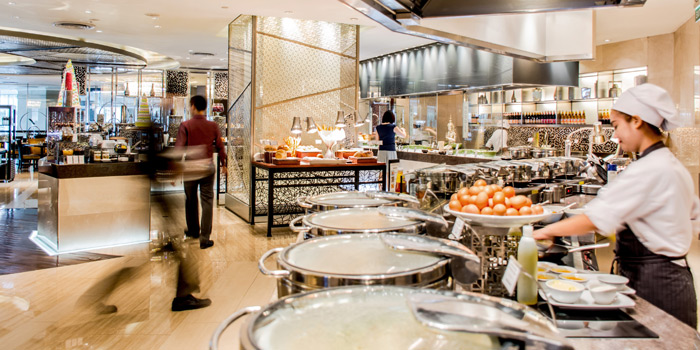 Ambience from Espresso Restaurant at InterContinental, Bangkok
