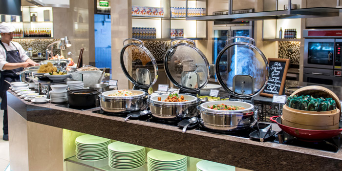 Buffet Line from Espresso Restaurant at InterContinental, Bangkok