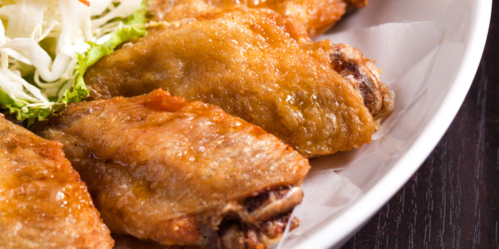 Chicken Wings from Why Here Bar & Bistro at 1839/9 Phaholyothin Rd. Ladyao, Chatuchak Bangkok