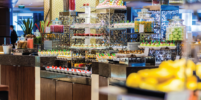 Dessert Station from Espresso Restaurant at InterContinental, Bangkok