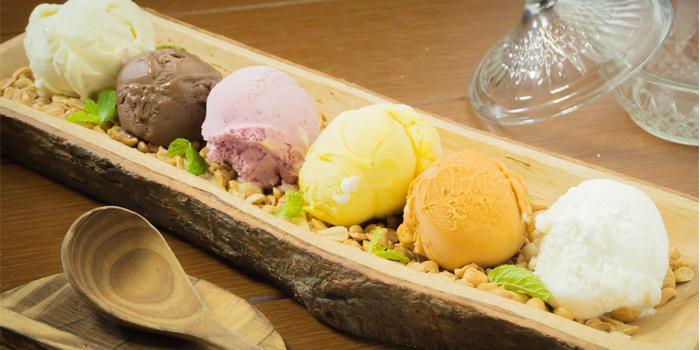 Ice Cream from Roy Dee Restaurant in Kata, Phuket, Thailand