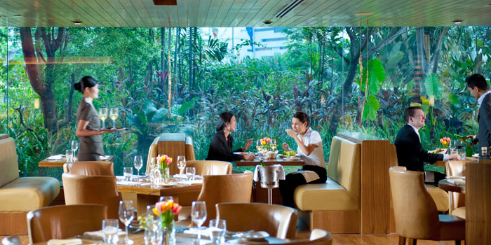 Interior 2 at Cinnamon, Mandarin Oriental Jakarta