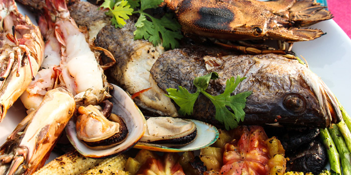 mixed-grilled-seafood from Cradle in Kamala, Phuket, Thailand