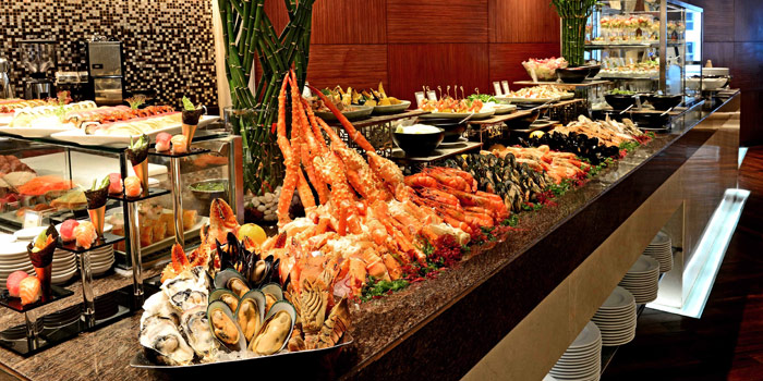 Seafood Station from Espresso Restaurant at InterContinental, Bangkok