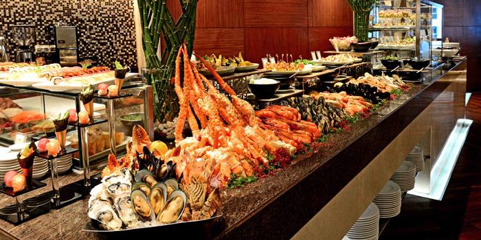 Seafood Station from Espresso Restaurant at InterContinental, Bangkok