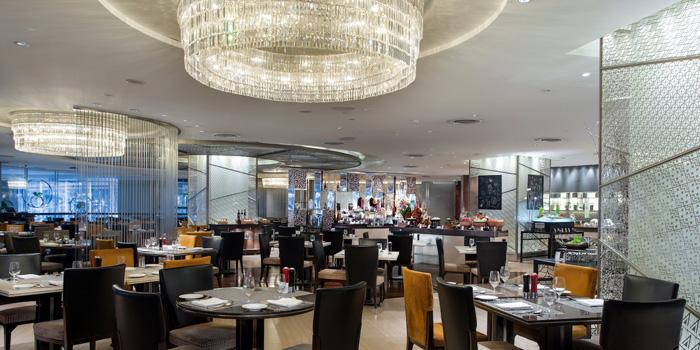 Dining Area from Espresso Restaurant at InterContinental, Bangkok