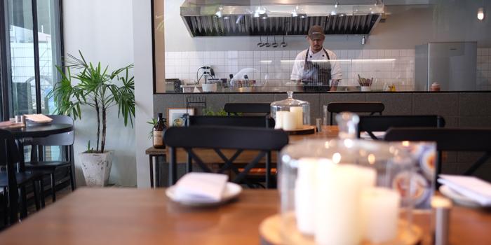 The Open Kitchen of Chunky at 110/1 Sukhumvit 23 Khlongtoei Nua, Watthana Bangkok
