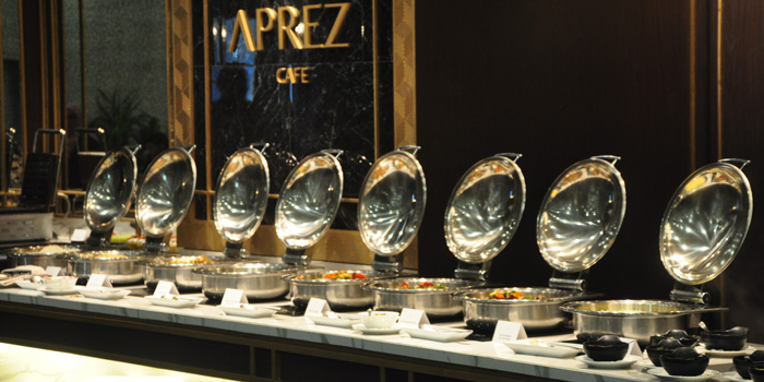 Buffet at APREZ, SCBD
