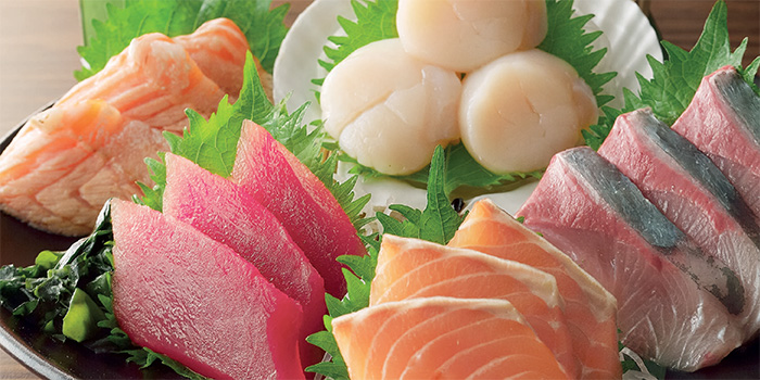 Assorted Sashimi Platter rom Watami (City Square Mall) in Little India, Singapore