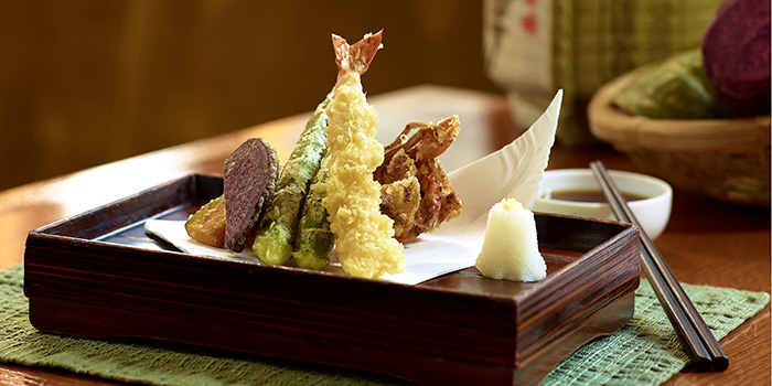 Assorted Tempura, Cafe, Tsim Sha Tsui, Hong Kong