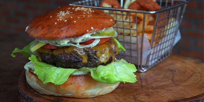 Australian Beef Burger from Roots - Bangkok at K- Village, Bangkok