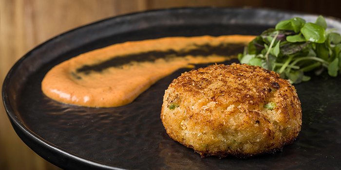 Boston Style Crab Cake, Bizou, Admiralty, Hong Kong
