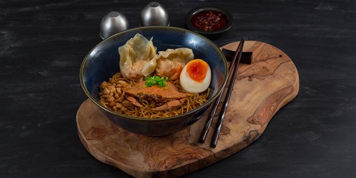 Blue Crab Wonton Noodle at Wan Treasures, Jakarta