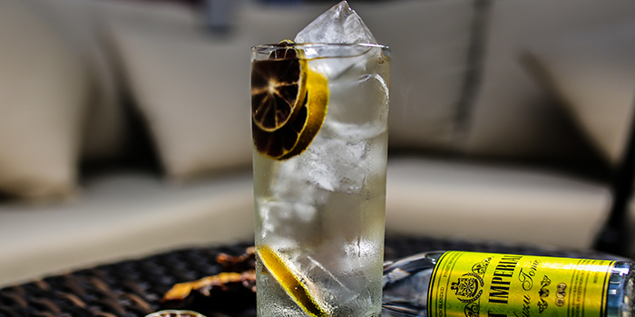 Gin & Tonic from Coriander Leaf Grill in Tanjong Pagar, Singapore