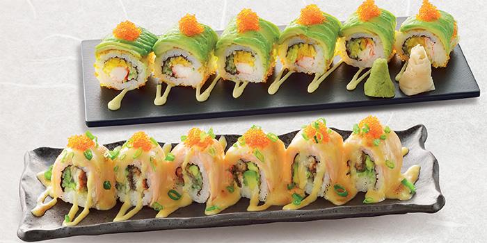 California Maki & Watami Oishi Maki from Watami (The Star Vista) in Buona Vista, Singapore