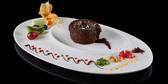Cardamom & Chocolate Lava Dessert from The Song of India in Newton, Singapore