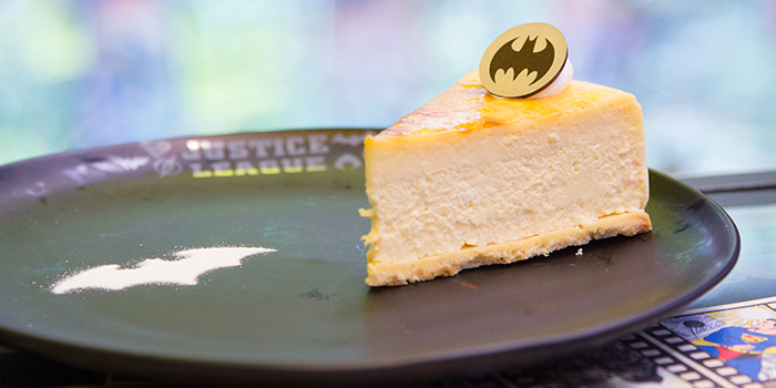 Cheesecake from DC Super Heroes Cafe (Takashimaya) in Orchard, Singapore