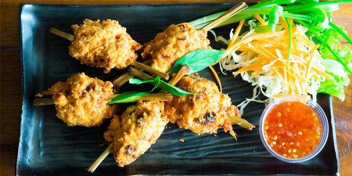 Chicken-Lemon-Grass from Golden Fish Restaurant & Bar in Bangtao Beach, Phuket, Thailand