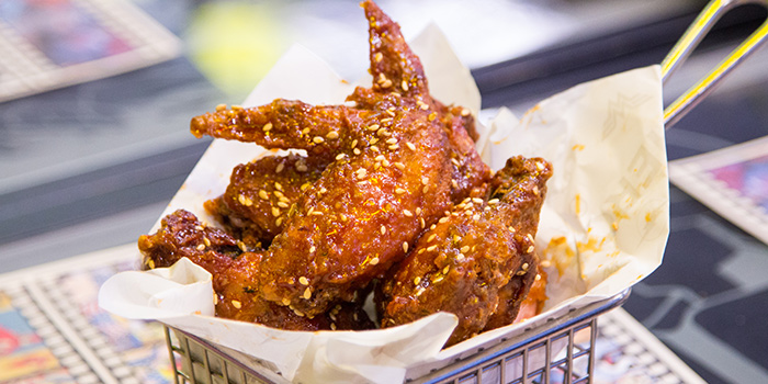 Chicken Wings from DC Super Heroes Cafe (Marina Bay Sands) at The Shoppes at Marina Bay Sands in Marina Bay, Singapore