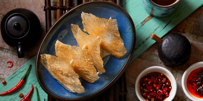 Truffle Potsticker, Chifa, Central, Hong Kong