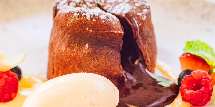 Chocolate Melt from Niche at Siam Kempinski Hotel, Bangkok