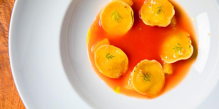 Creamed Borlotti Bean Soup from Sensi Restaurant in Narathiwat Soi 17, Bangkok