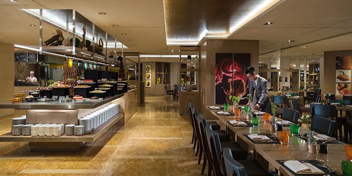 Dining Area, Cafe Renaissance, Wan Chai, Hong Kong