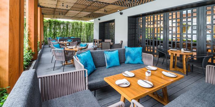 Dining Area of Siam Tea Room at G/F, Bangkok Marriott Marquis Queen