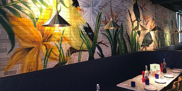 Dining Area, PizzaExpress (Lee Tung Avenue), Wan Chai, Hong Kong