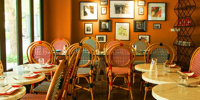 Dinning Area of Bistro Convent at 40/3 Convent Silom, Bangrak Bangkok