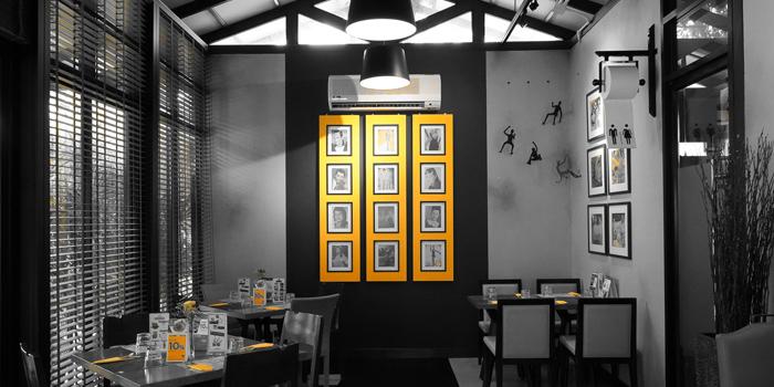 Dinning Area of Jann Bistro at Sathon at 1749 Chan Kao rd Thung Maha Mek, Sathon Bangkok
