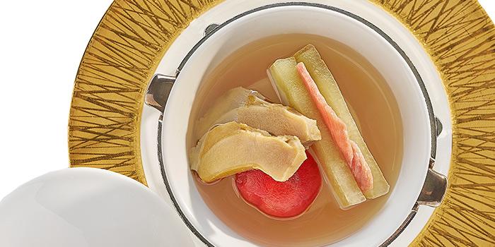 Double Boiled Sea Whelk with Kagoshima Melon, Yan Toh Heen, Tsim Sha Tsui East, Hong Kong