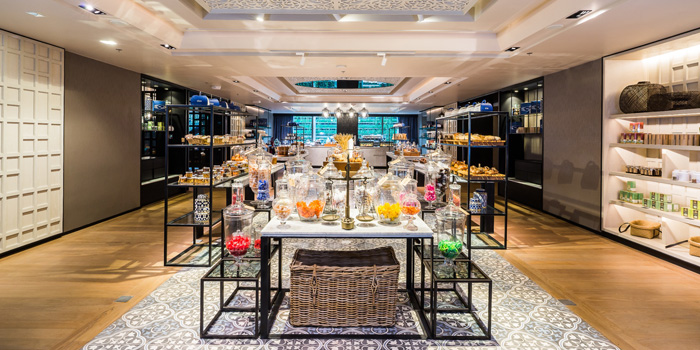 Food Station of Siam Tea Room at G/F, Bangkok Marriott Marquis Queen