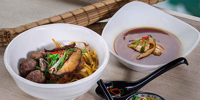 Noodles from GRUB Burger + Noodle Bar at HomeTeamNS-JOM in Balestier, Singapore