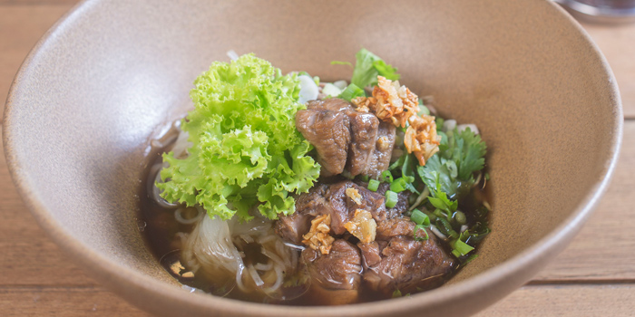 Braised Beef with Noodle from Siam Tea Room at G/F, Bangkok Marriott Marquis Queen
