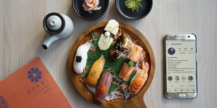 Dish 2 at Sekai Sushi, Pluit