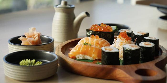 Dish 1 at Sekai Sushi, Pluit