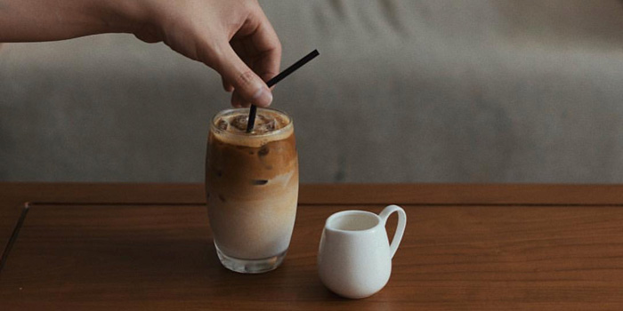Coffee at Monkey Tail Cafe, PIK