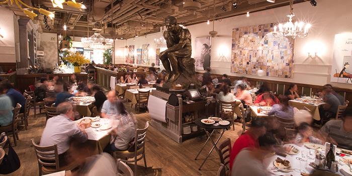 Dining Area of Amaroni