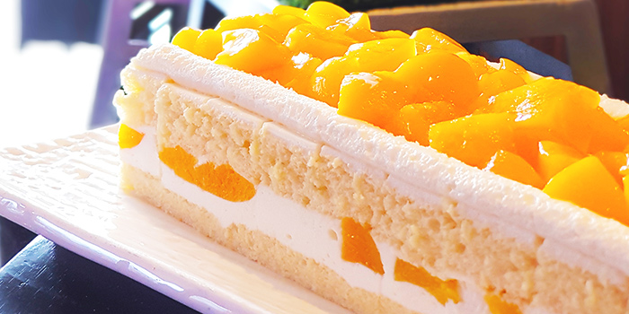 Mango Cake from The Square Restaurant in Novotel Singapore Clarke Quay, in Clarke Quay, Singapore