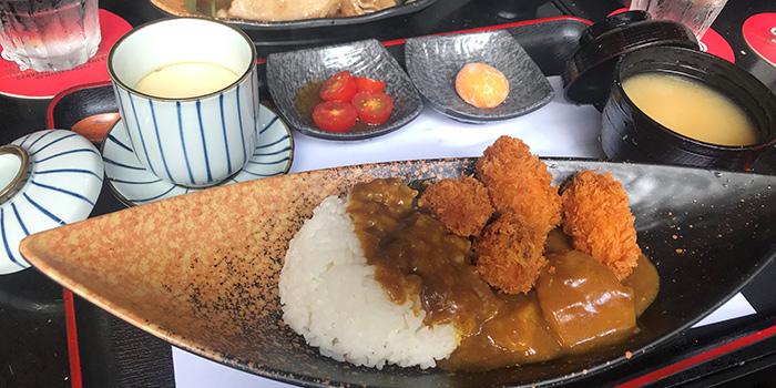 Japanese curry, NO.13 Modern Japanese Cuisine & Bar, Tai Hang, Hong Kong