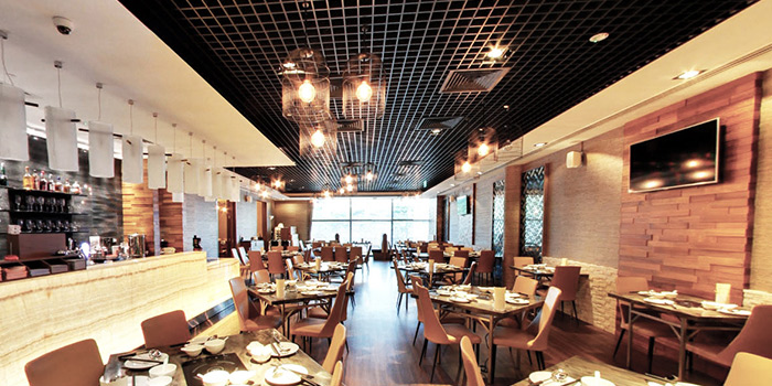Dining Area of COCA at Kallang Leisure Park in Kallang, Singapore
