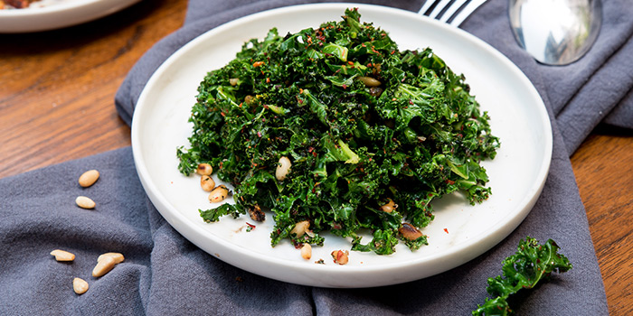 Kale Salad from Coriander Leaf Grill in Tanjong Pagar, Singapore