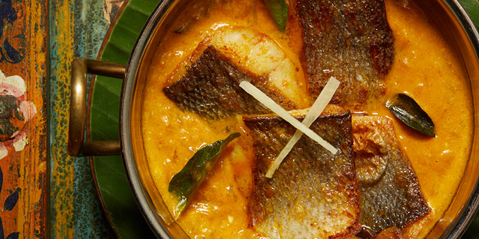 Kerala Fish Curry, Chaiwala, Central, Hong Kong