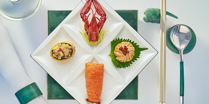 Lobster Trio, Yan Toh Heen, Tsim Sha Tsui East, Hong Kong