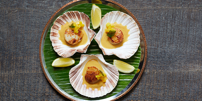 Malabar Scallops, Chaiwala, Central, Hong Kong