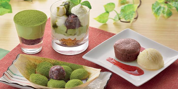 Matcha Desserts from Watami (The Star Vista) in Buona Vista, Singapore